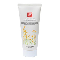 Nature Flowers White Cleansing Foam
